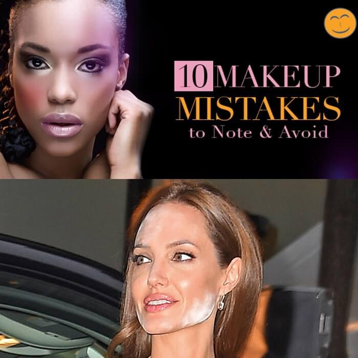 Top 10 greseli in make-up by Paulina Buldumea 3